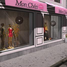 Mon Cheri: Store build