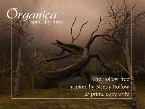 October update - New birches and Sleepy Hollow inspired tree
