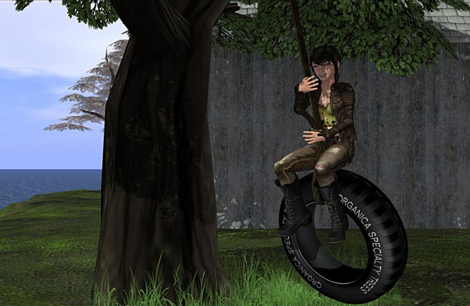 New Oak Tree (with optional tire swing) released!