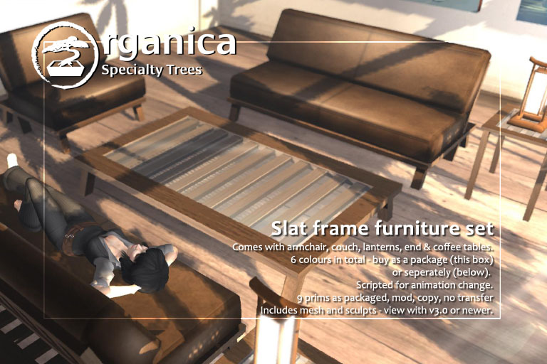 Two new furniture releases this week!