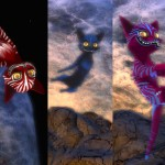 Cheshire Cats hit Wilds of Organica for Halloween!