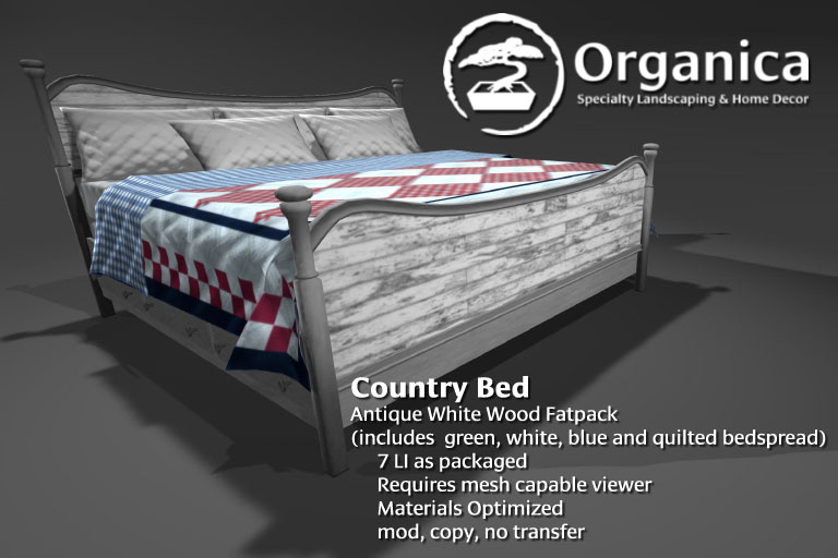 CountryBed-AntiqueWhiteWood-Fatpack-vendor