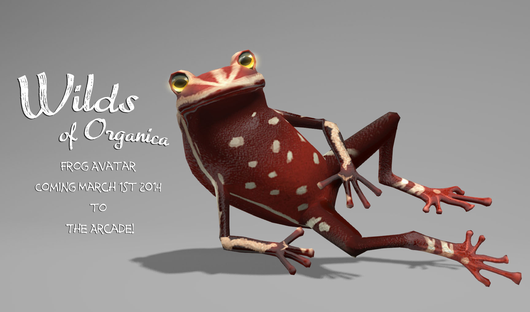 New Frog Avatar for The Arcade March 2014 round!