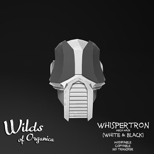 Whispertron Vendor-whiteblack
