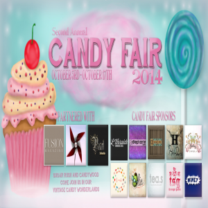 Candy Fair 2014 Poster V2 Texture