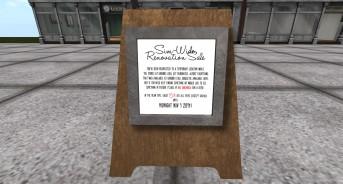 Sim-wide Renovation Sale!