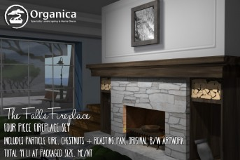 New Fireplace & Winter holiday items now available!
