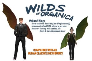New Bento Wings from Wilds of Organica!