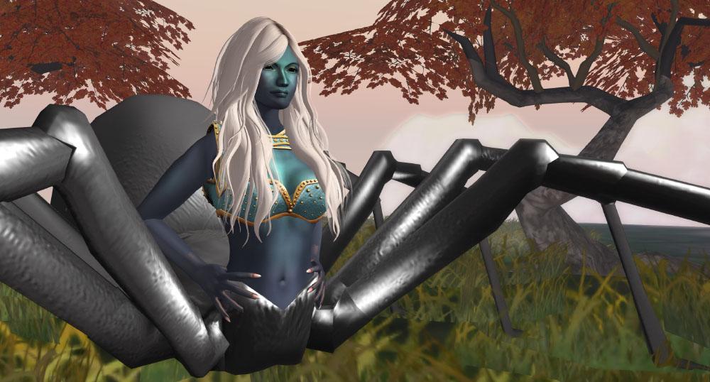 Wilds of Organica – Drider Avatar