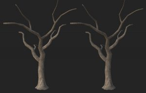 Willow Tree Process (Part 3) - Foliage In the Round, Trunk texturing too!