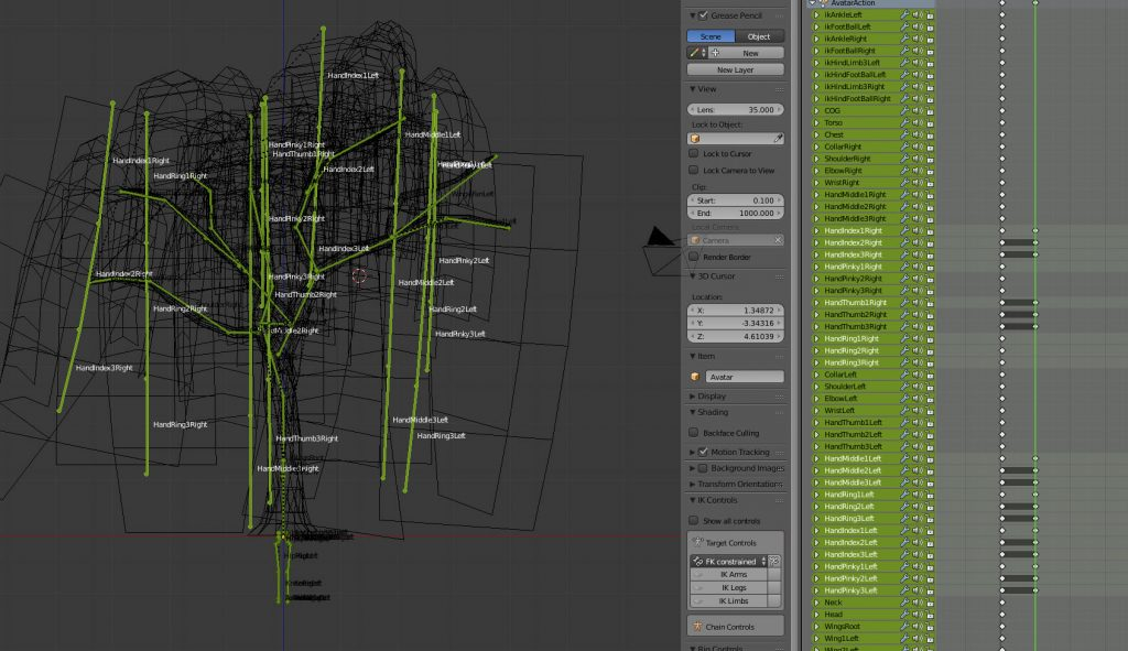 Willow Tree Process (Part 4) - Rigging and animating