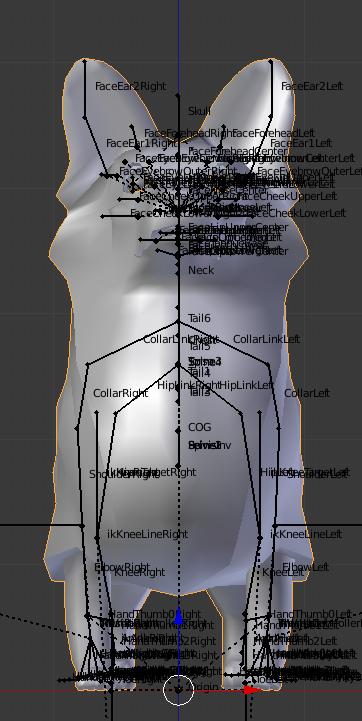 Corgi Week 2: Using Blender 2 79+ & Avastar 2 X, Part 1 – Organica