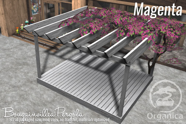 New Bougainvillea Pergolas now available!
