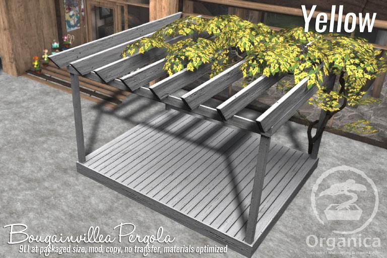 New Bougainvillea Pergolas now available!