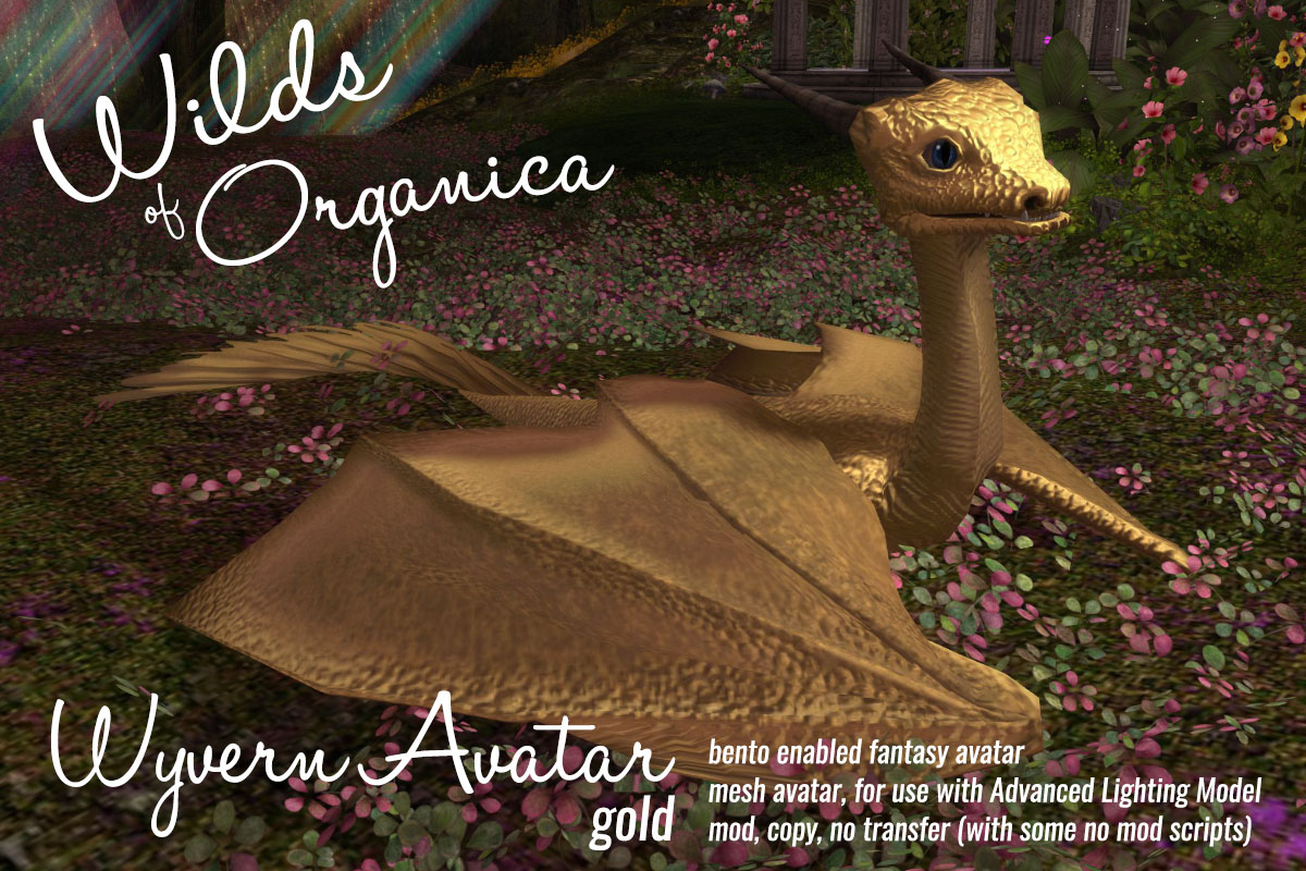 Wyverns now available at Wilds of Organica!