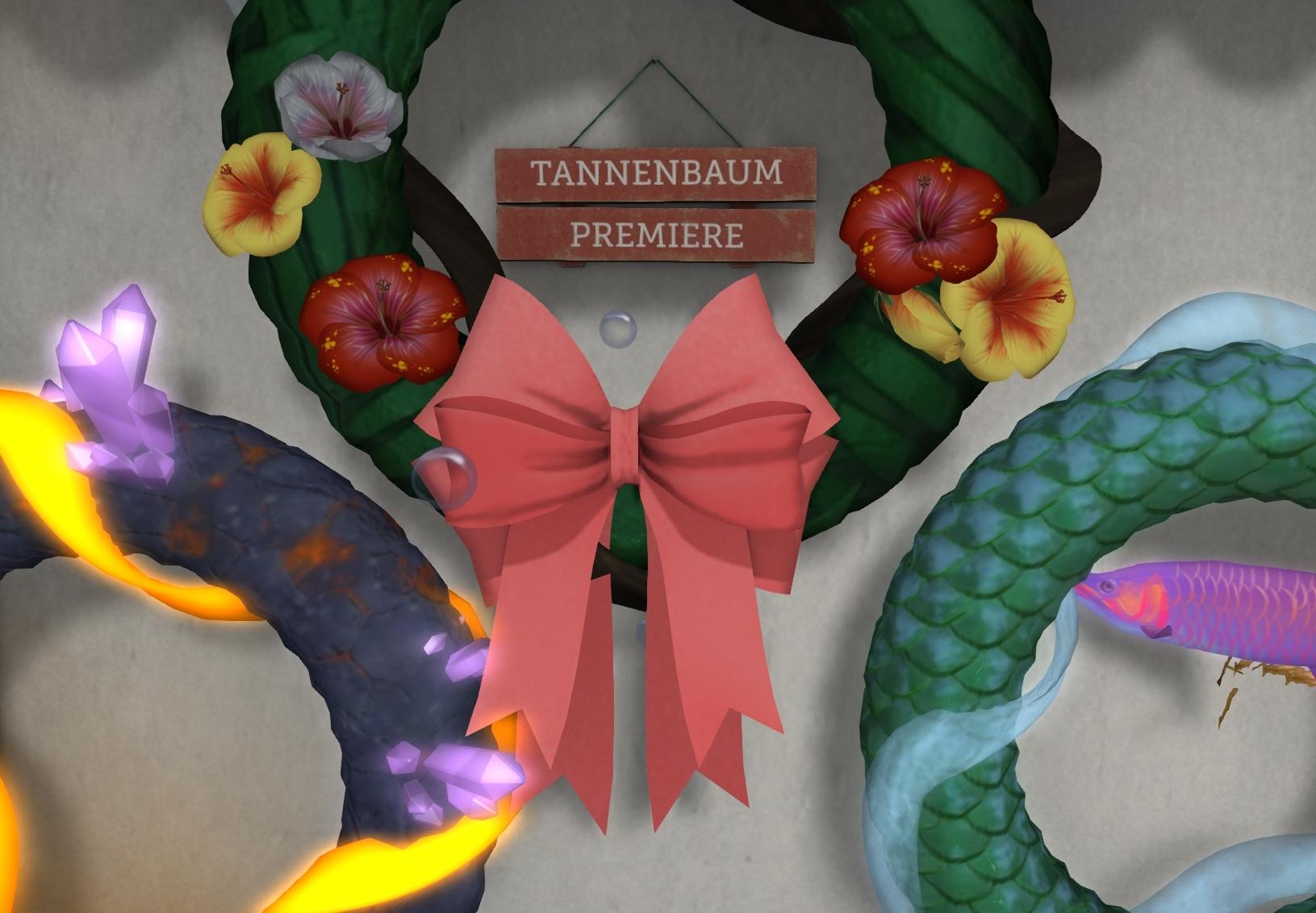Themed Wreaths at Tannenbaum!