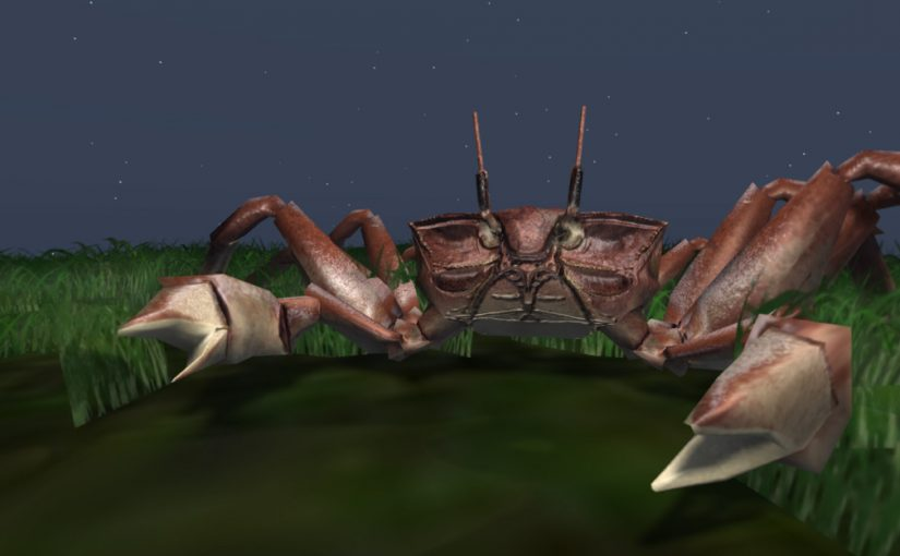 New Giant Ghost Crabs at Fantasy Faire!